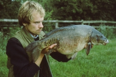 16lb 15oz Mirror Carp from Claxton, 1986