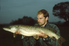 17lb 14oz pike, Ouse at Red House